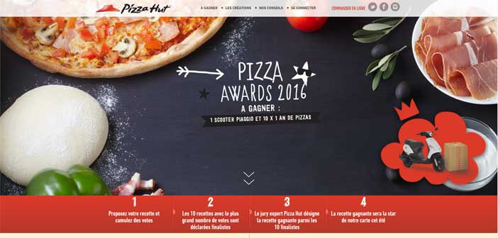 Jeu Concours Pizza Hut Pizza Awards