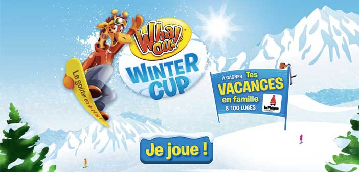 Jeu Concours Whaou Winter Cup 2016