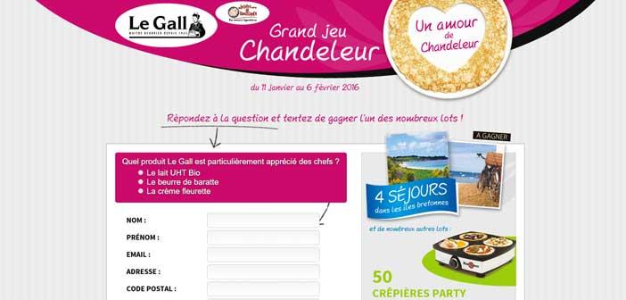Grand Jeu Concours Laiterie Le Gall