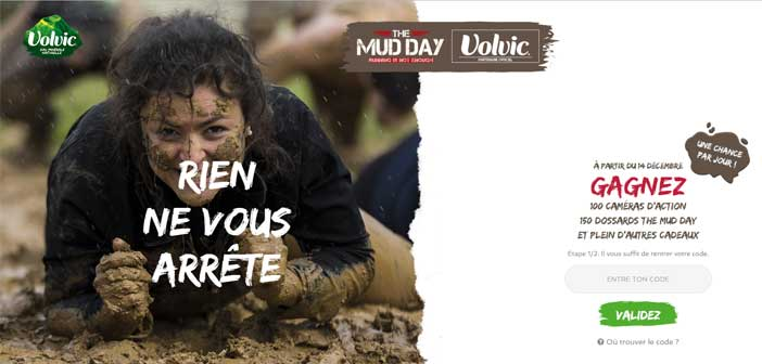 Volvic.fr/themudday - Jeu Volvic The Mud Day