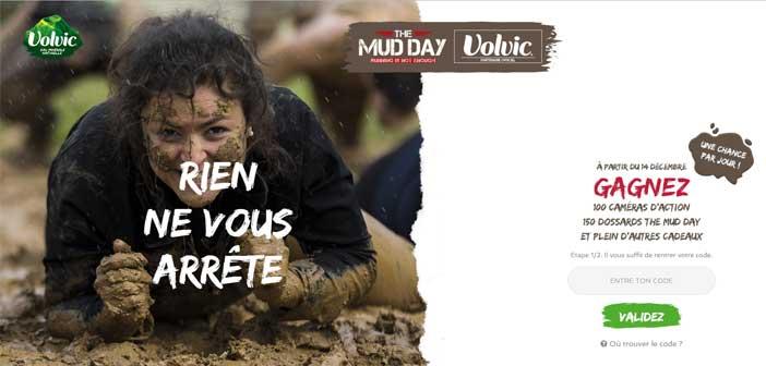 Volvic.fr/themudday - Jeu Volvic The Mud Day