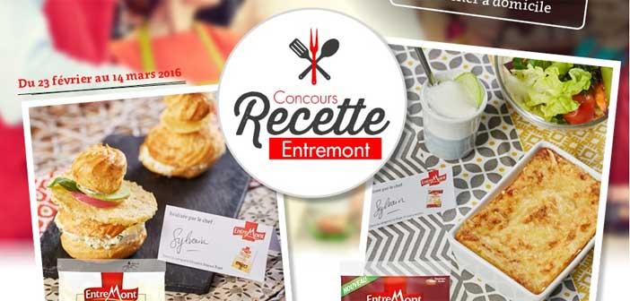 Jeu Concours Recette Entremont