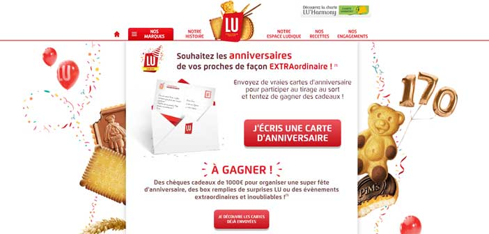 Grand Jeu Lu L'EXTRAordinaire Anniversaire – Lu170ans.fr