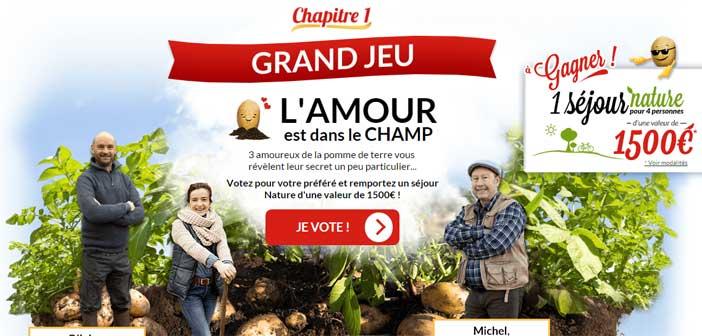 Grand Jeu Maggi L'Amour est dans le champ – Maggi.fr