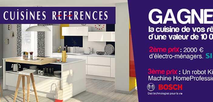 Jeu Concours Cuisines Références – Lejournaldelamaison.fr