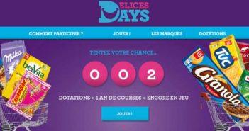 Grand Jeu Délices Days 2017 – Delicesdays.fr