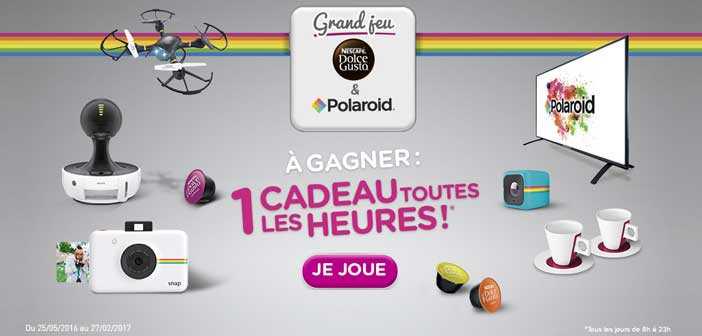 dolce grand jeu dolce gusto polaroid. Black Bedroom Furniture Sets. Home Design Ideas