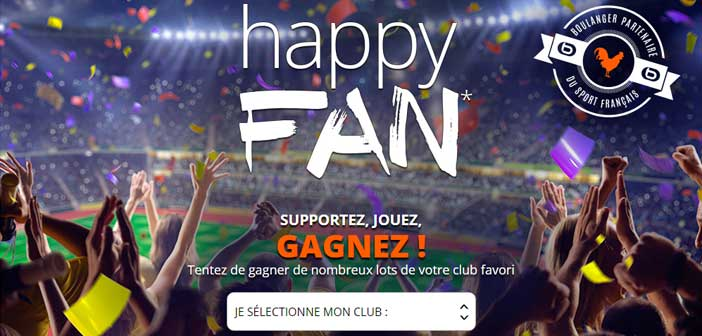 Grand Jeu Happy Fan Boulanger