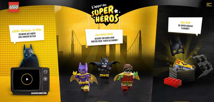 Grand Jeu Lego Batman Le film