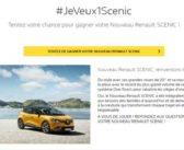 Grand Jeu Renault Scenic 2017