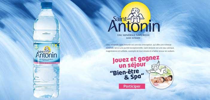 Jeu Concours Eau Saint Antonin