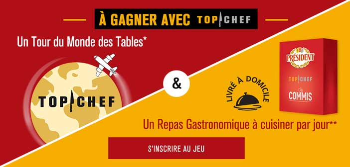 Jeu Top Chef President 2017
