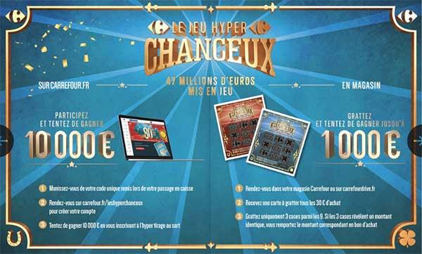 Jeu Les Hyper Chanceux Carrefour