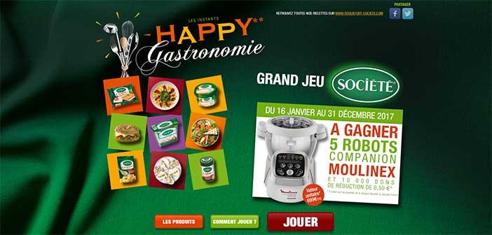 Grand Jeu Société Happy Gastronomie 2017