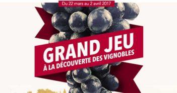 Jeu Franprix Foire aux vins 2017