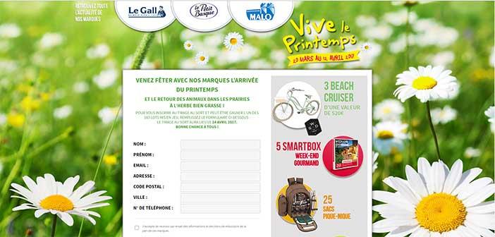 www.jeufeteduprintemps.fr Jeu Fête du printemps 2017