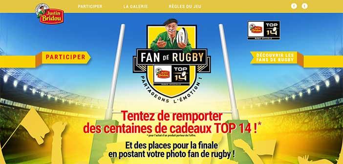 Jeu Justin Bridou Top 14 Rugby