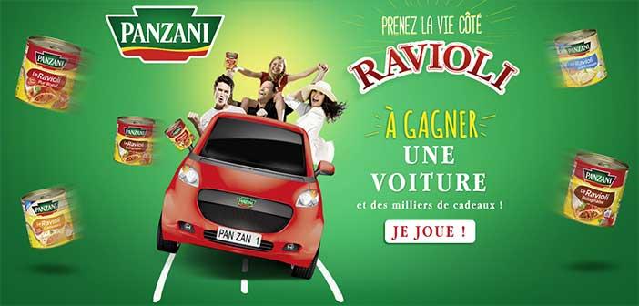 Grand Jeu Panzani Prenez la vie côté Ravioli