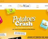 www.mccain.fr – Jeu Potatoes Crash McCain