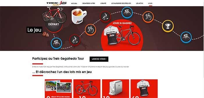 Grand Jeu Segafredo Trek Tour 2017
