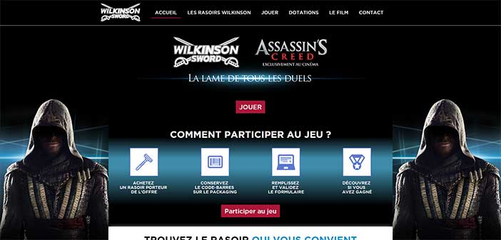 Jeu Wilkinson Assassin's Creed