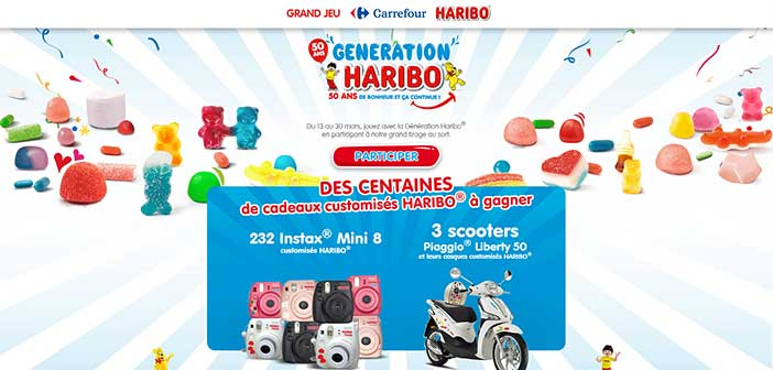 Grand Jeu Carrefour Haribo