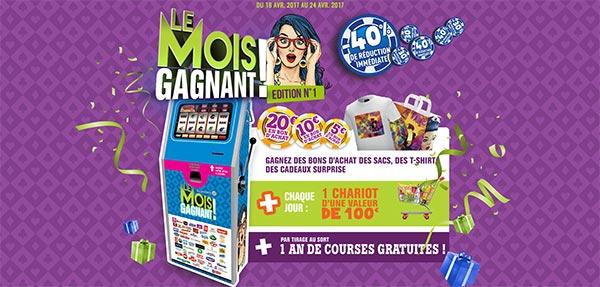 Grand Jeu Le Mois Gagnant E.Leclerc