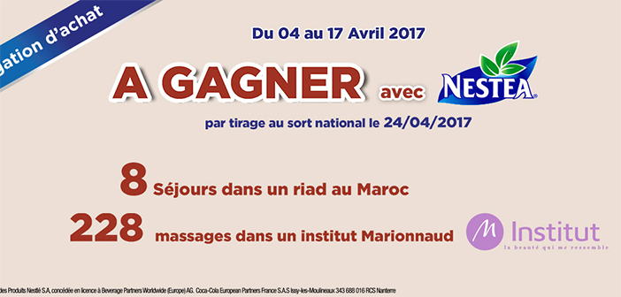 Grand Jeu Nestea chez Carrefour