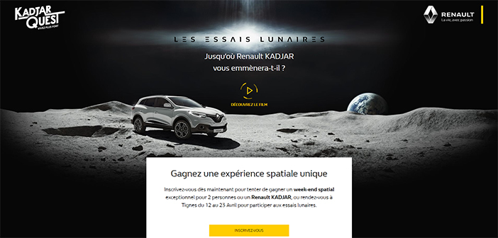 Grand Jeu Renault Kadjar Quest