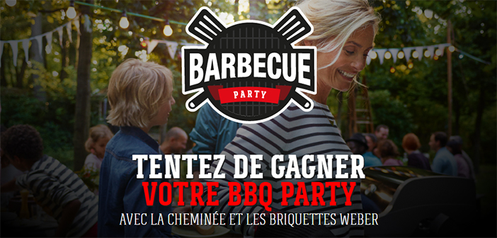 Grand Jeu Weber Barbecue Party
