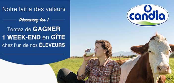 www.candia.fr/jeu - Grand Jeu Candia Notre lait a des valeurs