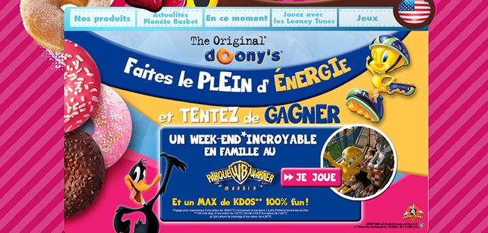 Grand Jeu Doony's Looney Tunes