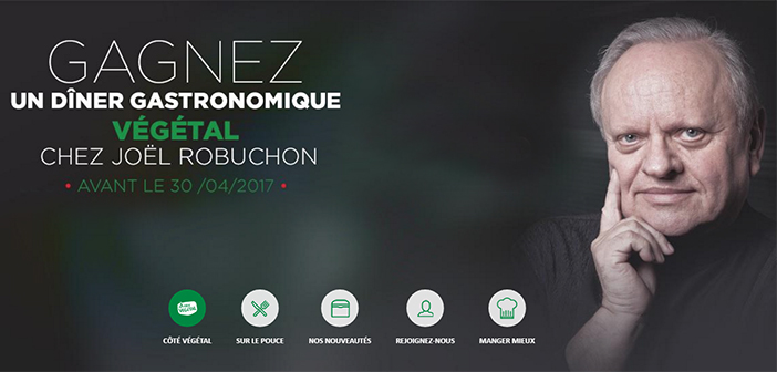 Jeu Fleury Michon Côté Végétal Joël Robuchon