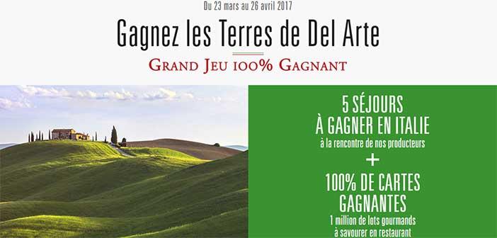 Grand Jeu Del Arte 100% gagnant
