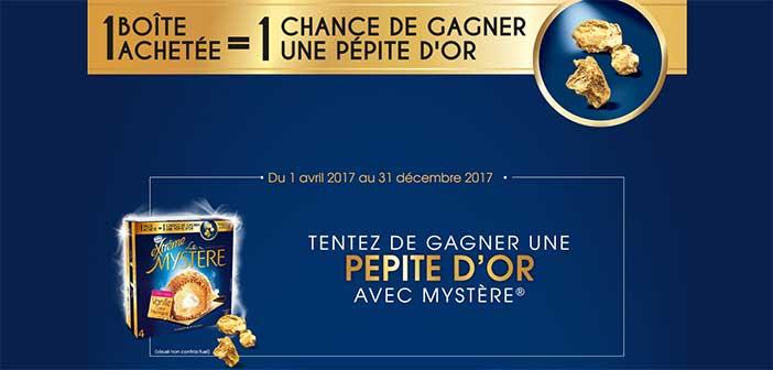 Grand Jeu Nestlé Extrême Mystère Pépite d'Or