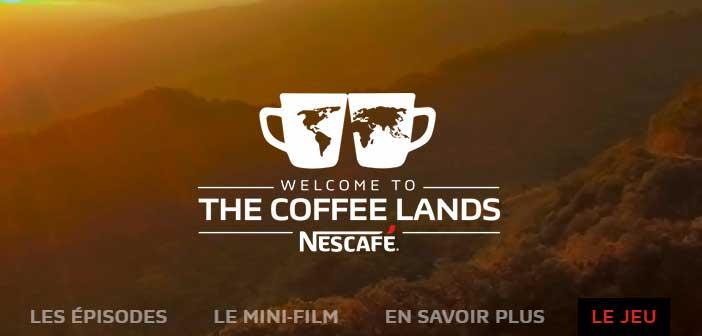 Jeu Nescafé Terres en Café