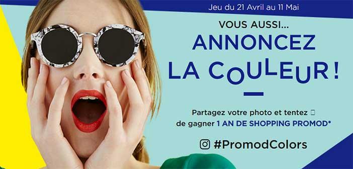 www.promod-jeu.fr - Jeu Promod Annoncez La Couleur