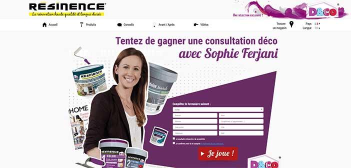 Jeu Concours Résinence Deco.fr