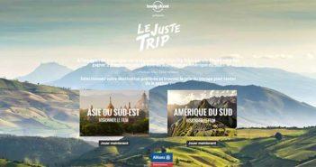 justetrip.com - Jeu Lonely Planet Le Juste Trip