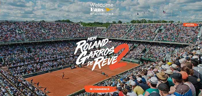 monrolandgarrosdereve.accorhotels.com - Jeu Mon Roland-Garros de rêve