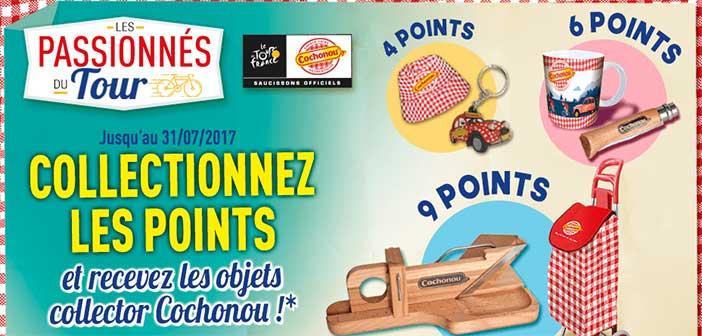 www.boutiquecochonou.fr - Offre Cochonou Les Passionnés du Tour