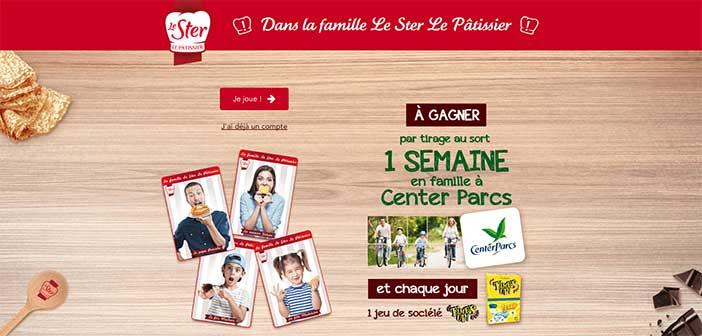 www.famillelesterlepatissier.com - Grand Jeu Famille Le Ster Le Pâtissier