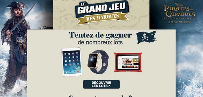www.geantcasino.fr/jeu-pirates-des-caraibes - Grand Jeu des Marques Géant Casino