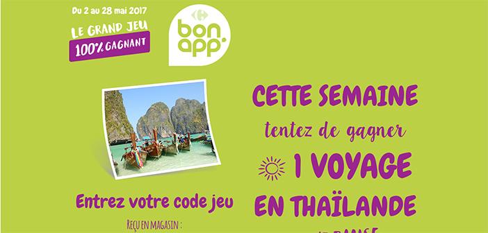 www.grandjeubonapp.com - Grand Jeu Carrefour Bon App 2017