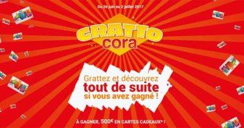 www.gratto.cora.fr - Grand Jeu Grattocora