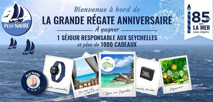 www.jeuconcourspetitnavire.fr - Jeu Petit Navire La Grande Régate Anniversaire
