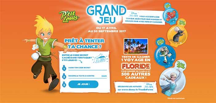 www.jeuptitlouis.fr - Grand Jeu P'tit Louis Disney