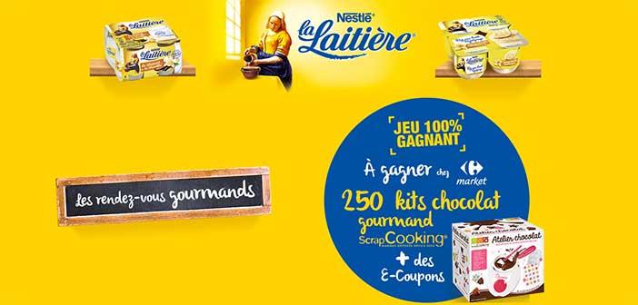 www.lalaitiere.fr/carrefourmarket - Jeu La Laitière Carrefour Market