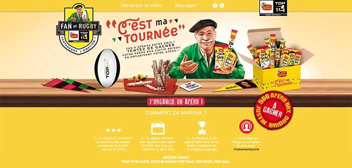 www.latourneedejustin.fr - Jeu Justin Bridou C'est ma tournée