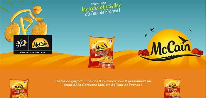www.mccain.fr/tourdefrance - Jeu McCain Tour de France 2017
